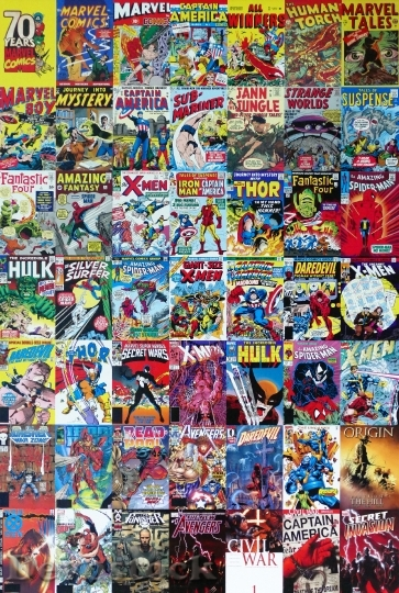 marvel comics collection download