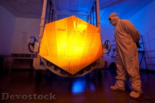Devostock Space Telescope Telescope Mirror 0 HD