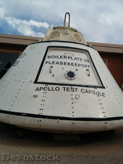Devostock Space Travel Apollo Test HD