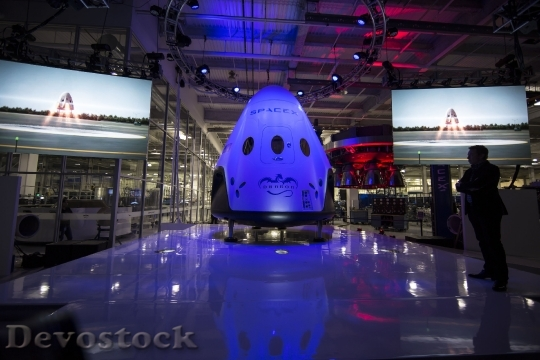Devostock Spacecraft Spacex Spaceship 693221 HD
