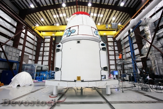 Devostock Spacecraft Spacex Spaceship 693223 HD