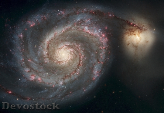 Devostock Spiral Galaxy Milky Way HD