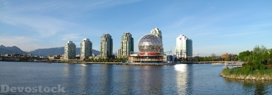 Devostock Vancouver Science World Architecture HD