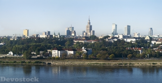 Devostock Warsaw Poland City Wisla HD