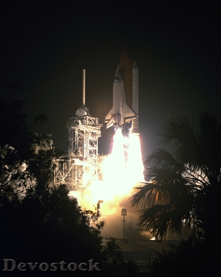 STS-56 Launch