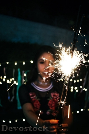 Devostock Lights Girl Celebrate Fireworks 61862 4K.jpeg