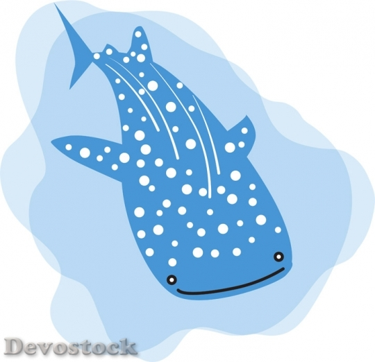 Devostock SWIM WHALE SHARK