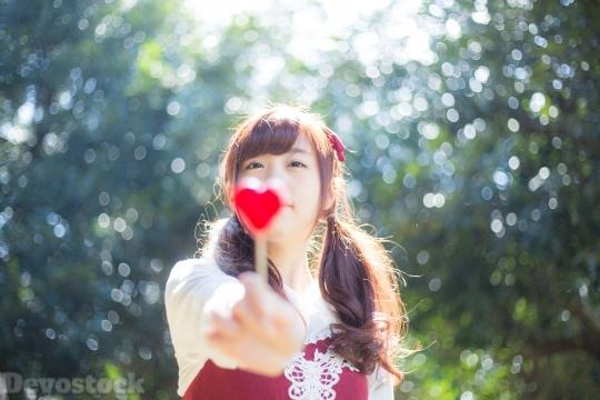 Devostock Beautiful Girl Heart Love Nature 4k Devostock Download Free Images Public Domain Photos And More