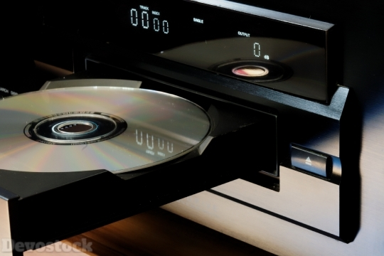 Devostock DVD Player Music Song 4k