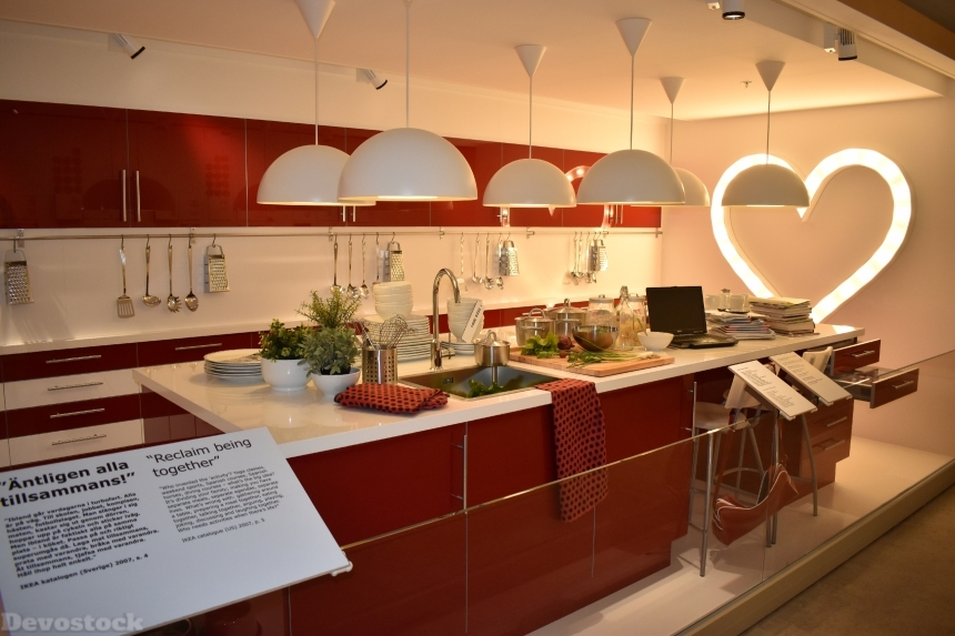 Devostock Ikea Museum Kitchen Sweden 4k