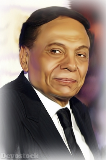 King of laughter Adel Emam