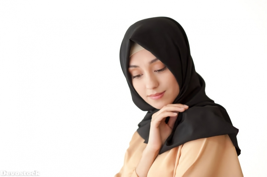 Top Hijab Images collection Muslim women Girls  (192)